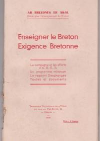 enseigner le breton