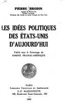 les idées politiques