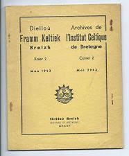 archives institut celtique